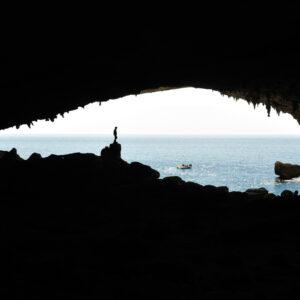 Baunei. Grotta dei Colombi