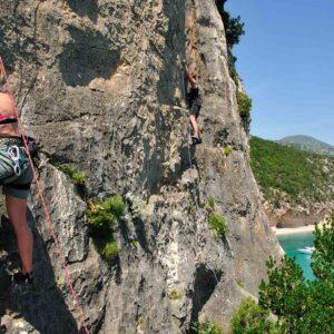 Climbing_Costa di Baunei